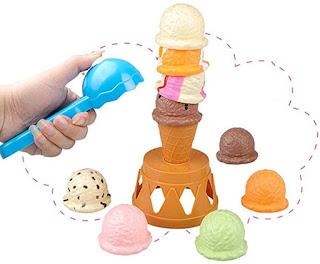 Ice cream articulation reinforcing activities