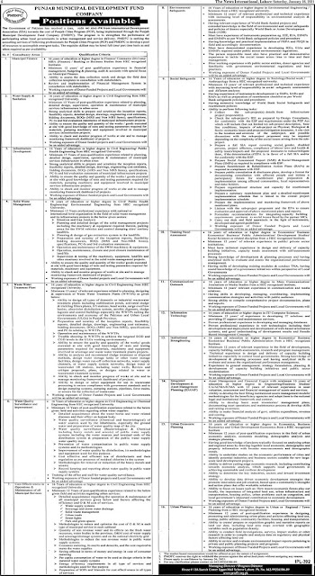 punjab-municipal-development-fund-company-pmdfc-jobs-2021