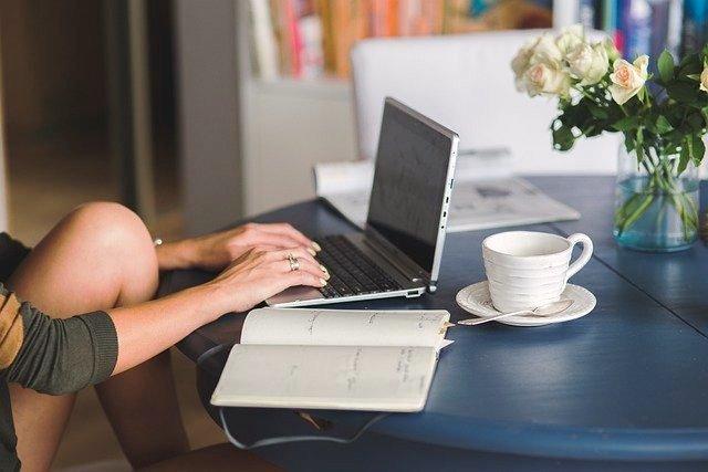 O blog Olivia Garimpando Por Aí de hobby para um negócio