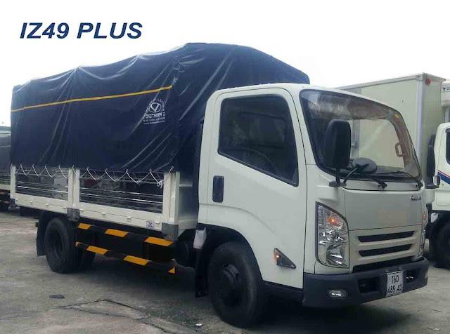 Xe tải Iz49 Plus Đô Thành 2,5 tấn thùng bạt