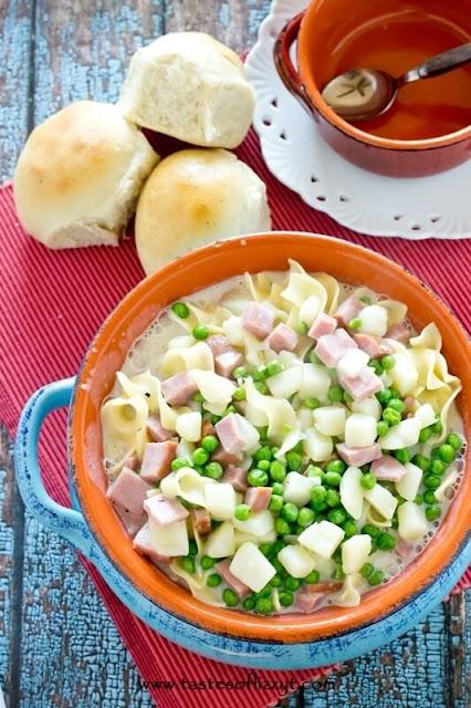 ham noodle soup