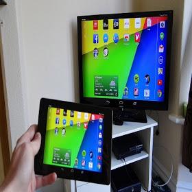 تطبيق مشاركة شاشة الهاتف على التلفاز بدون كوابل