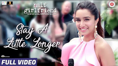 Stay A Little Longer Lyrics Half Girlfriend