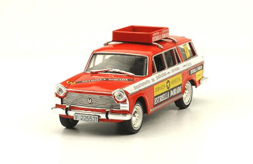 Seat 1500 1976 Cerveza Estrella Dorada vehículos de reparto y servicio salvat