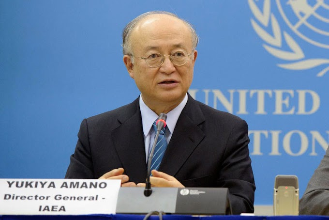 UN nuclear watchdog chief Yukiya Amano dies at 72
