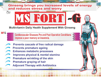 MS FORT-G Multivitamin with Ginseng