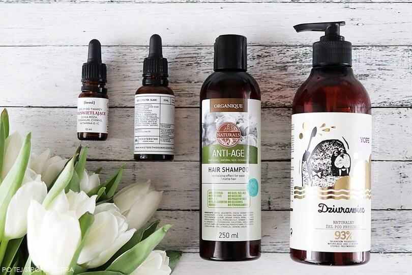 kosmetyki iossi, ministerstwo dobrego mydła, organique, yope
