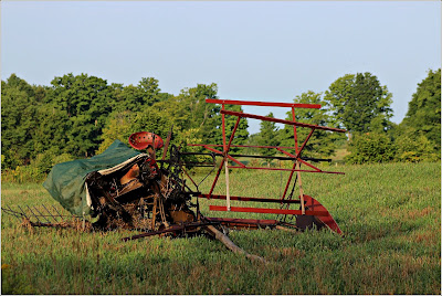 August 9, 2018 Stopping and considering all the work that goes into farming