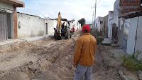 Prefeitura de Baraúna realiza mais uma obra de recuperação de esgotamento com recursos próprios