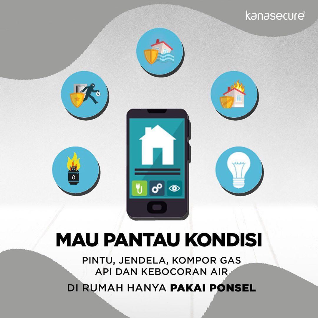 SMART ALARM KANASECURE W20 Ciptakan Kenyamanan dan Keamananan Rumah Dengan Teknologi Modern