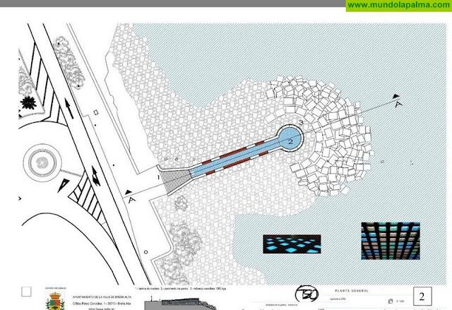 Breña Alta contará con un 'Mirador Infinito' seguro y accesible en cuyo proyecto se trabaja desde hace meses