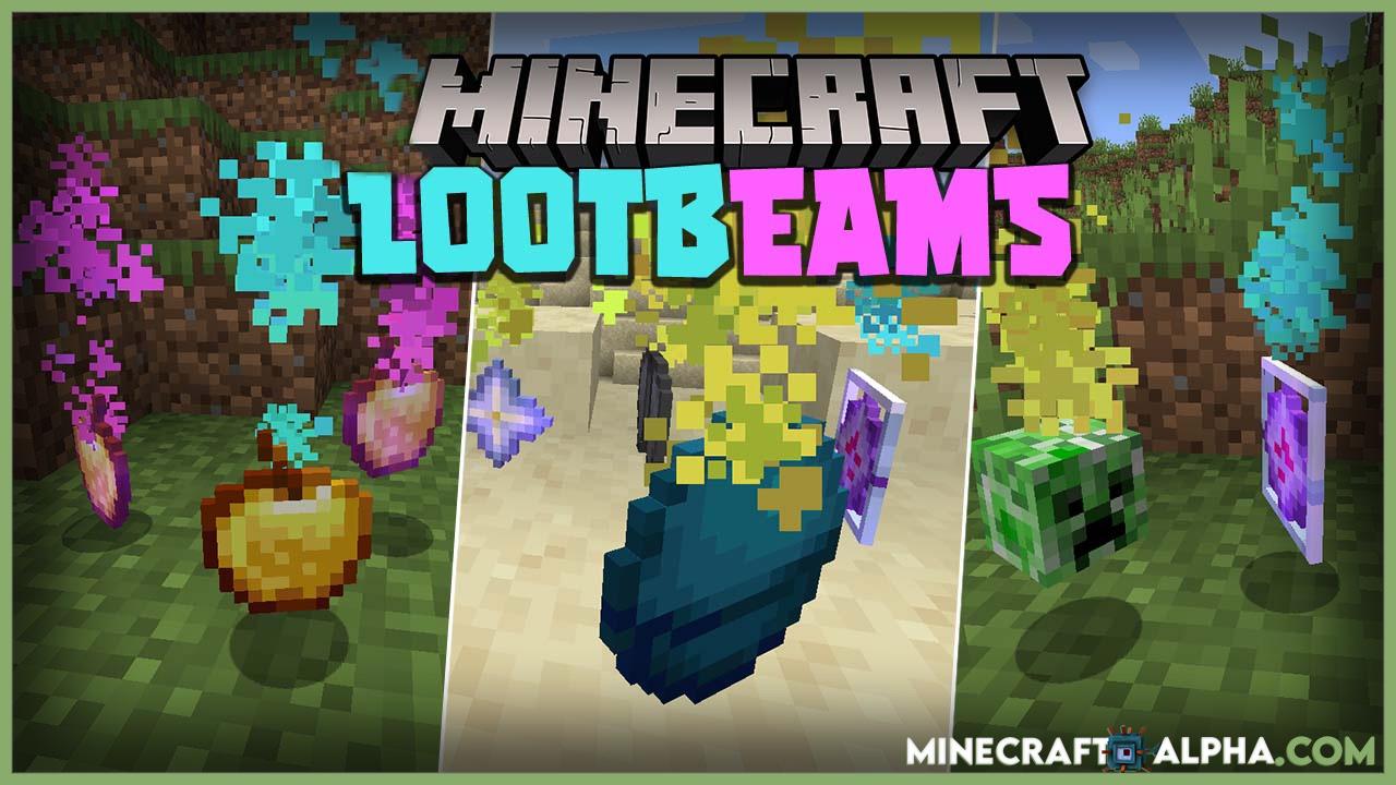 Minecraft Lootbeams Mod 1.17.1 (Utility)