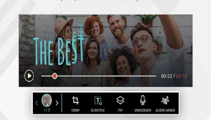 Aplikasi Edit Video FilmoraGo