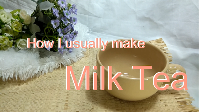 bikin milk tea sendiri di rumah_resep milk tea enak_resep milk tea rumahan_aesthetic video