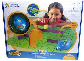 robot mouse y set de actividades