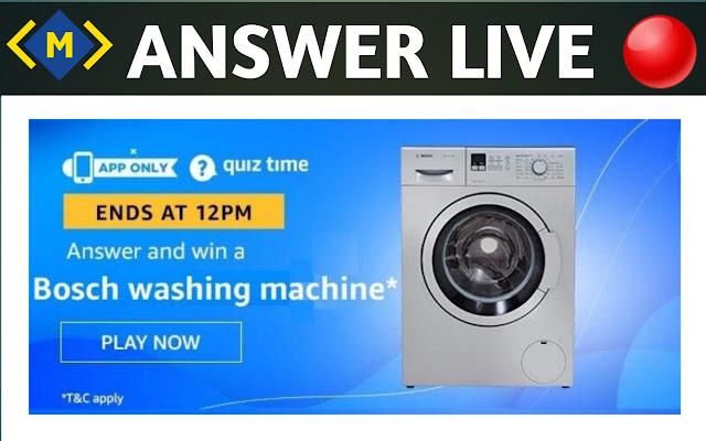 Amazon Quiz Contest Answers ! Money Quiz