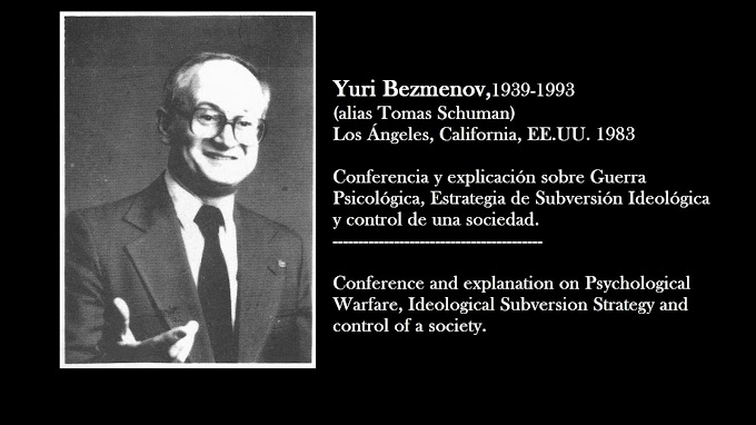 Yuri Bezmenov, Conferencia sobre Subversión Ideológica 1983