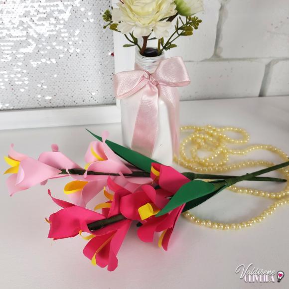 Diy -origami flor de lis