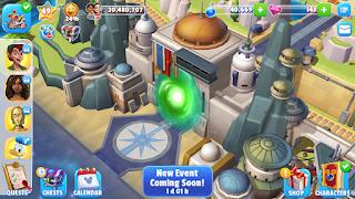 Star Wars Gate Battu Disney Magic Kingdoms