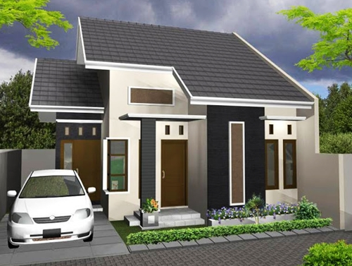 picture of a simple 1 storey house