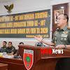 Pangdam Hasanuddin Terima Paparan Kesiapan TMMD ke -107 dari Para Dansatgas