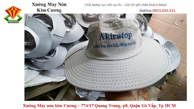 May nón tai bèo số lượng lớn ở Hồ Chí Minh