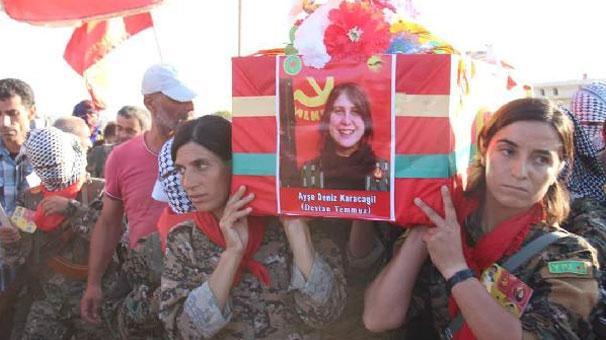 Kırmızı Fularlı Kız Kobane de defnedildi