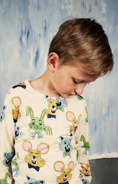 Camiseta Tivoli Toy verde de Mini Rodini