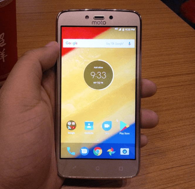 The Moto C Plus has a plastic build, which is OK for an entry-level phone.