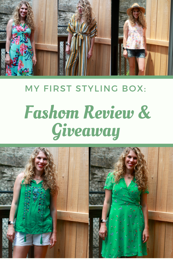 My First Styling Box: Fashom Review & Giveaway