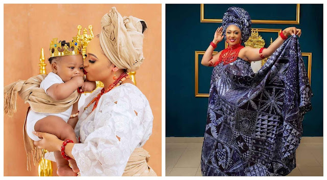 Check out more lovely photos of Rosy meurer and her son