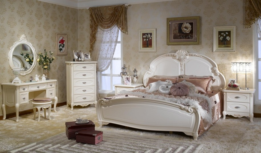 Home priority beautiful feminine bedroom design with for Sophisticated feminine bedroom designs
