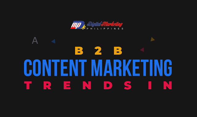 Top B2B trends for Content Marketing