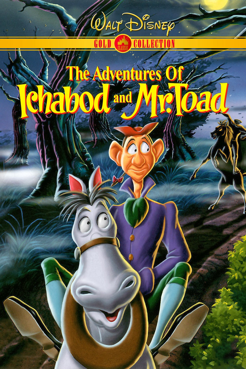 Watch The Adventures of Ichabod and Mr. Toad (1949) Online For Free Full Movie English Stream