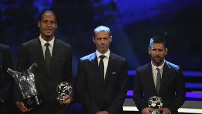 UEFA Player of the season 2018-2019