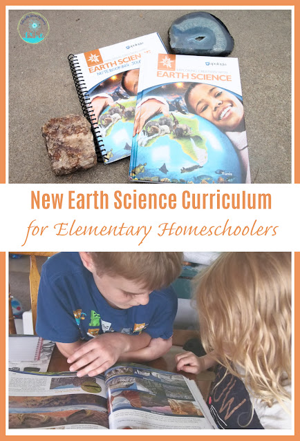 New Curriculum to Explore Earth Science with Elementary Homeschool Kids