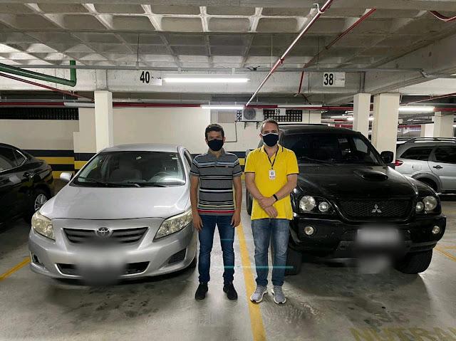 Prefeito Juninho Alves adquire dois veículos para Caraúbas junto a Polícia Federal