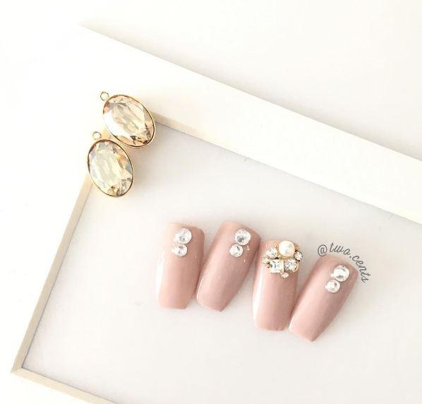 wedding nail art jakarta