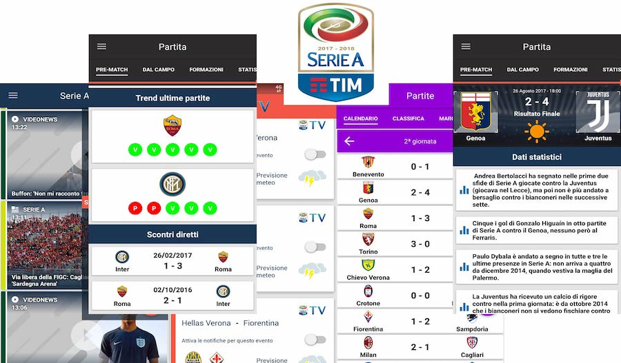 App Serie A TIM per Android [Samsung, LG, Huawei, Sony...]