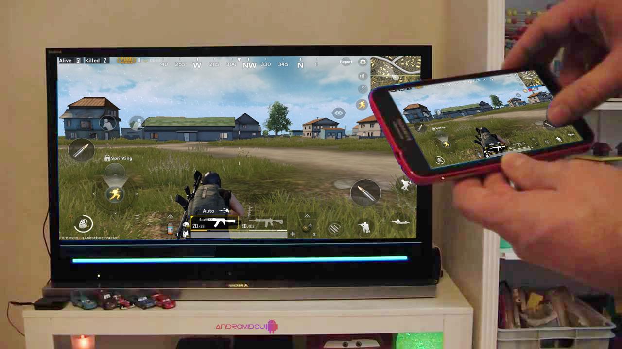 تحميل تطبيق Screen Mirroring لعرض شاشة الهاتف على التلفاز بدون أسلاك