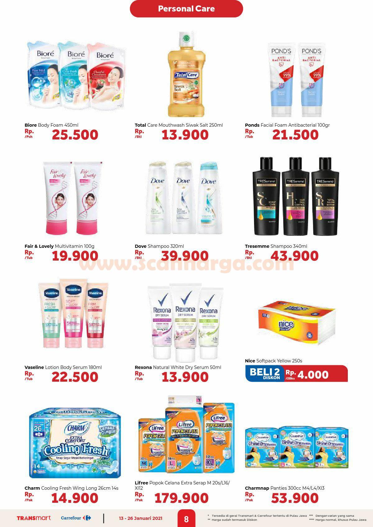 Katalog Promo Carrefour Transmart 13 - 26 Januari 2021 8