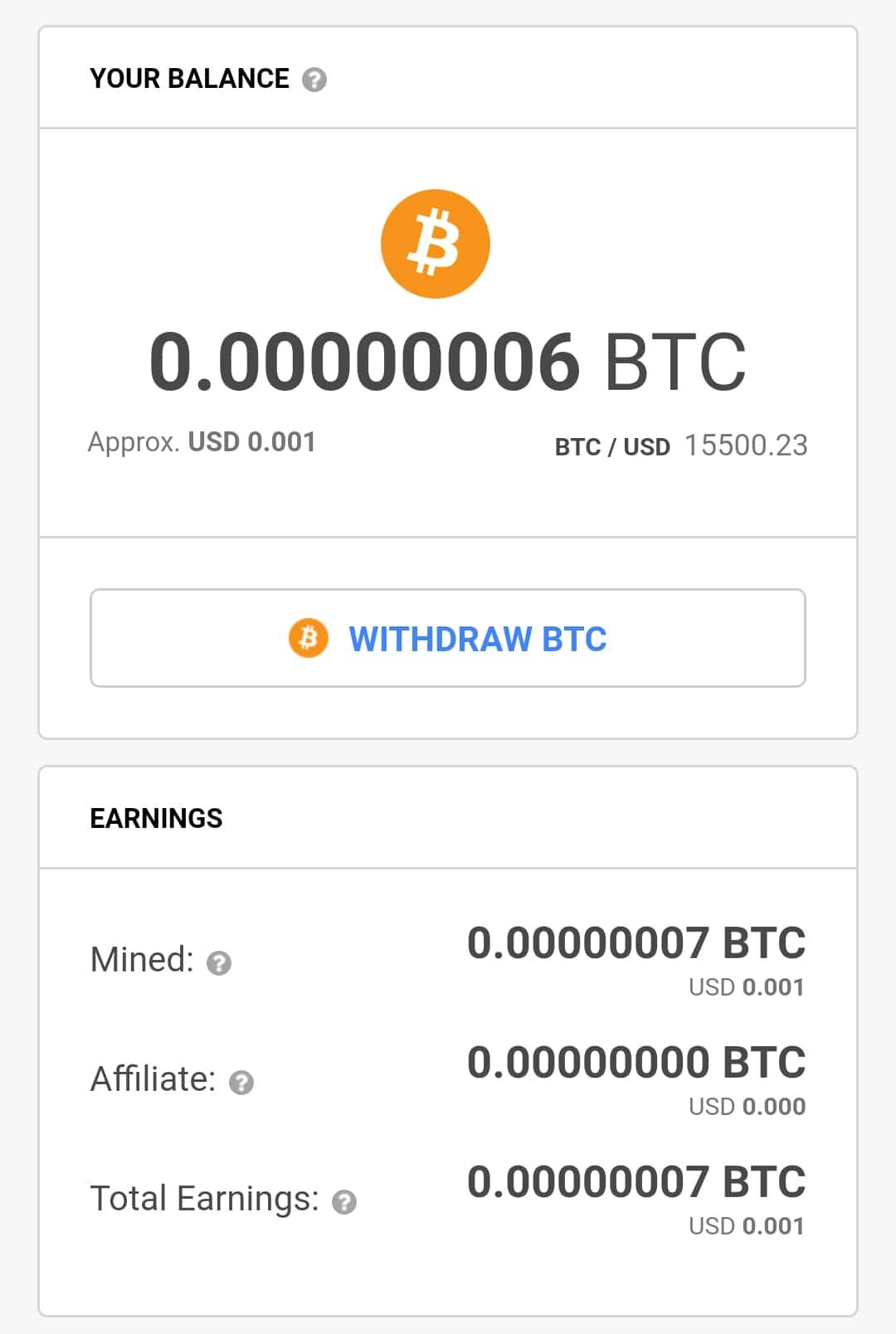 cryptotab mining speed
