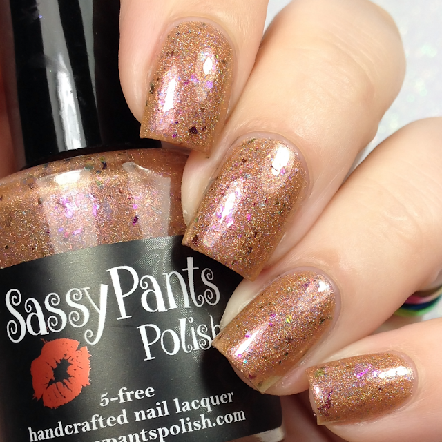 Sassy Pants Polish-Amberina