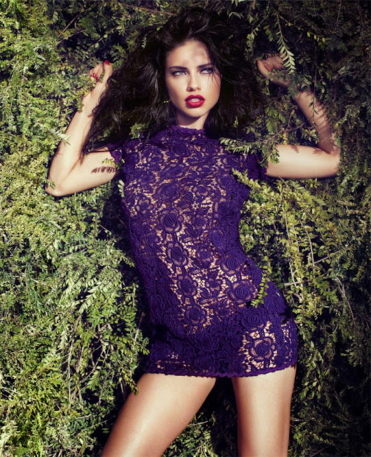 Adriana Lima - Blumarine Fall - Nice Design Photographers | Nice Design Photographers