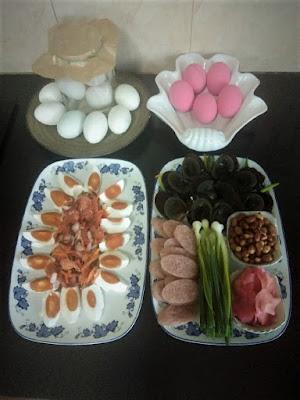 Eier in Thailand