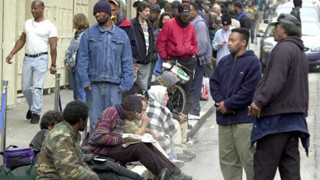 Resultado de imaxes para pobreza nos estados unidos