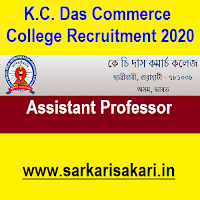 K.C. Das Commerce College has released a recruitment notification for 4 posts of Assistant Professor. Interested candidates may check the vacancy details and apply offline.