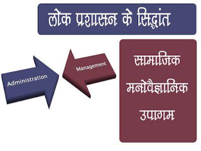 सामाजिक-मनोवैज्ञानिक उपागम: डगलस मैक्ग्रेगर एवं अब्राहम मैस्लो | Maslo and Duglas Lok prashasan Sidhant