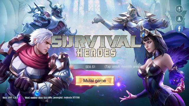 Gameplay Cakep! Survival Heroes Gabungan MOBA Battle Royale Sudah Bahasa Indonesia