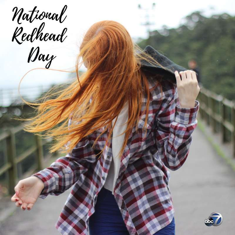 National Redhead Day Wishes Awesome Picture